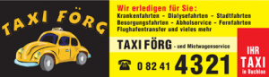 Zur Taxi Förg Website